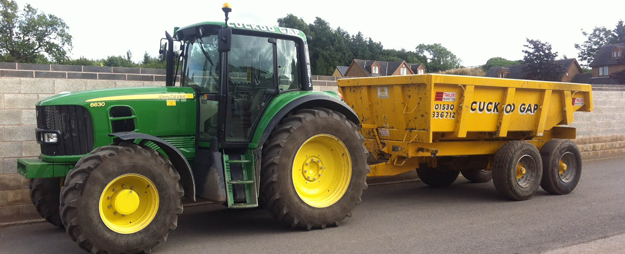 Tractor & Plant Hire Specialists